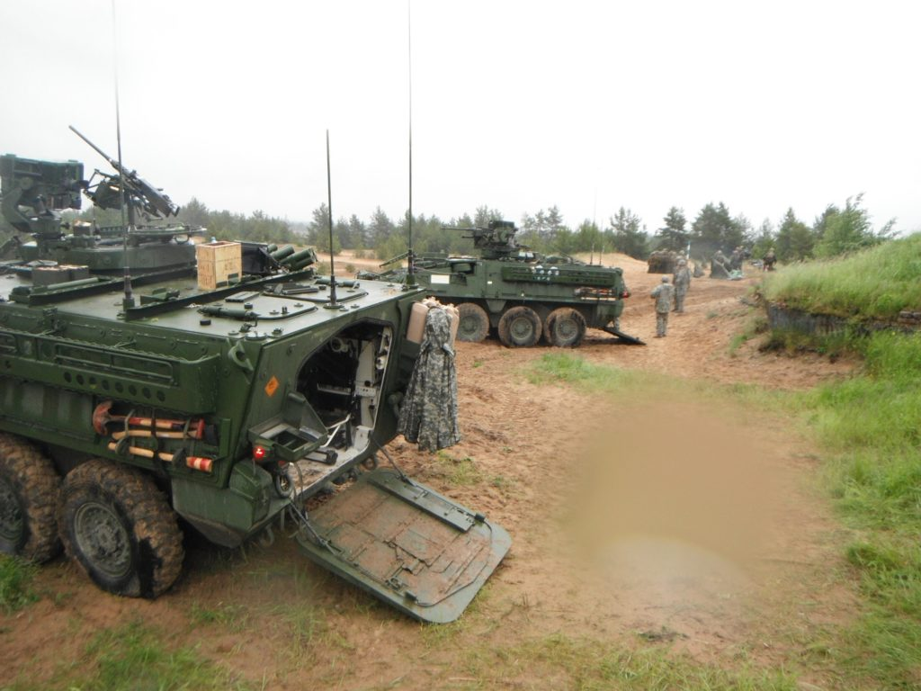 infantry carrier vehicle